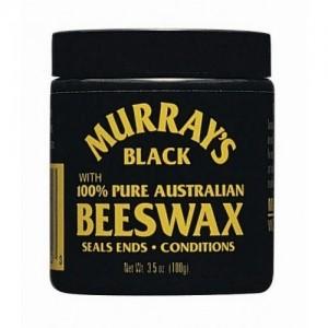 Murray's Black Beeswax 4 Oz