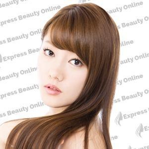 "10"" CLIP IN - 10PCS 100%  HUMAN HAIR EXTENSIONS -STRAIGHT- MEDIUM BROWN/ HONEY (4/27)"