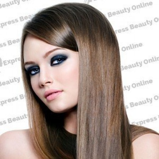 18 Clip In - 9pcs 100% Human Hair Extensions - Ash Brown (8)