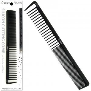 "Ebo 7 3/4"" Silicon Cutting Comb With Micro"