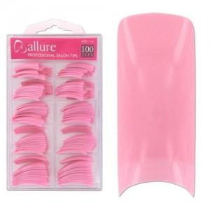 Ebo  Salon Nail Tips Pink 100