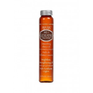 hask keratin protein weightless strengthing oil