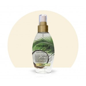 ogx nourishing + coconut milk weightless-hydrating oil mist