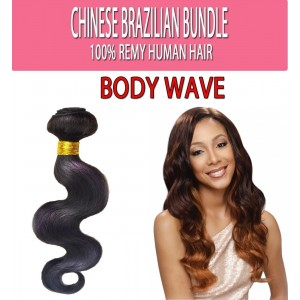Brazilian Unprocessed 100% Virgin Remy Human Hair Weave Body Wave