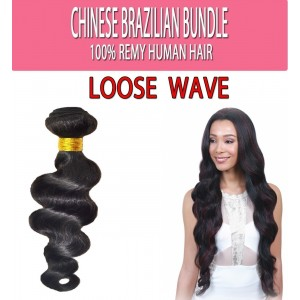 Brazilian Unprocessed 100% Virgin Remy Human Hair Weave Yaki Straight