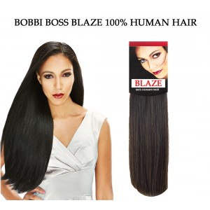 Bobbi Boss Blaze Natural Yaki 100% Human Hair Weave Combo Pack