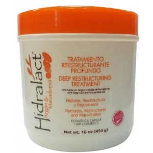 Hidralact Argan And Macadamia Deep Restructuring Treatment 16 Oz
