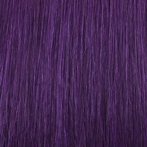 "18"" clip in - 7pcs synthetic hair extension -straight - purple"