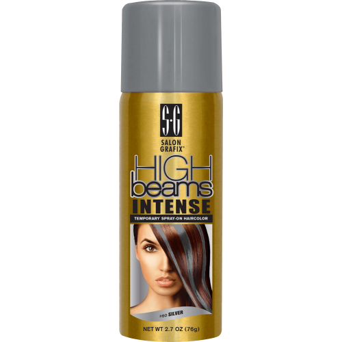 HIGH BEAMS INTENSE TEMPORARY SPRAYON HAIR COLOR  SILVER