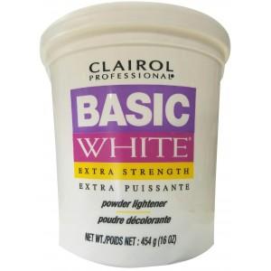 Clairol Basic White Extra Strength Powder Lightener 16 Oz