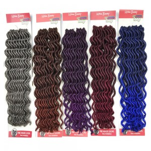 Urban Beauty  Synthetic Hair Crochet Braids Loop Lady Goddess Locs 12""