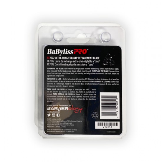 Babyliss Pro Replacment Outling Trimmer Blade Fx707z Ultra Thin Zero Gap