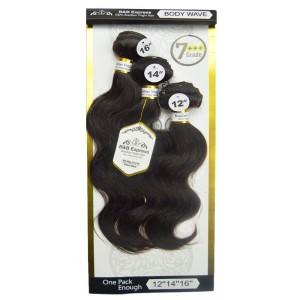 B&b Express 100% Unprocessed Brazilian Remi Human Hair Weave Body Wave