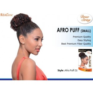 Beauty Element Snythetic Draw String Afro Puff Small