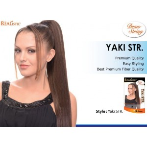 Beauty Element Snythetic Draw String Yaki Straight 20""