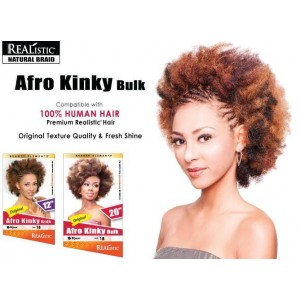 Beauty Element Synthetic Hair Crochet Braid Afro Kinky Bulk 12""