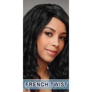 she human hair weaveing deep wave french twist