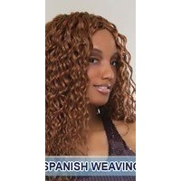 she human hair weaveing deep wave spanish wave