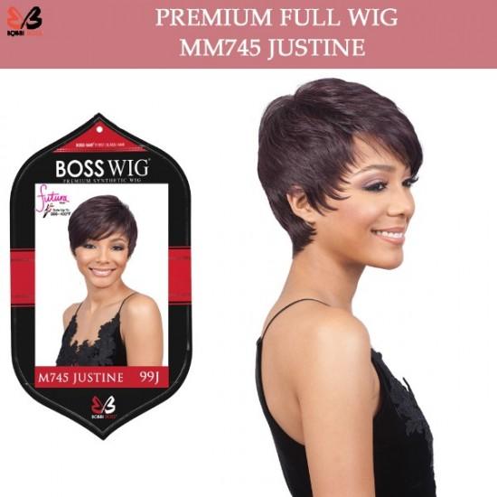Bobbi Boss Synthetic Full Wig M745 Justine