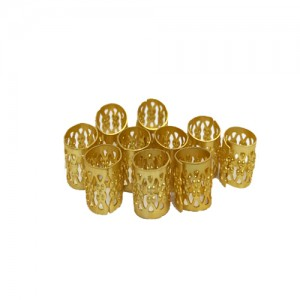 Ebo Braid Hair Rings Hair Decorations Gold