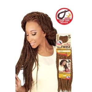 """Eve Synthetic Hair Crochet Braid Loop Senegales Afro Twist L 20"""""""