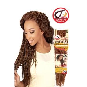 """Eve Synthetic Hair Crochet Braid Loop Senegal Afro Twist 20"""""""
