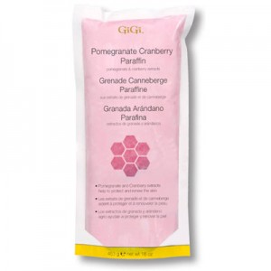 gigi pomegranate-cranberry paraffin wax healthy skin