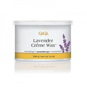 gigi lavender crème wax aromatheraphy