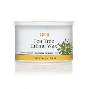 gigi tea tree crème wax soothing formula