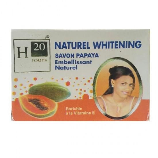 H20 Jours Natural Whitening Papaya Soap