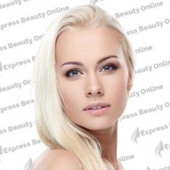 18 clip in - 9pcs 100% human hair extensions - pure blonde (613)