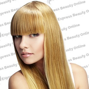 "16"" clip in - 9pcs 100%  human hair extensions - pure blonde/honey (613/27)"