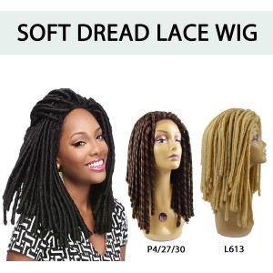 Its A Wig Synthetic Lace Front Wig Soft Dread