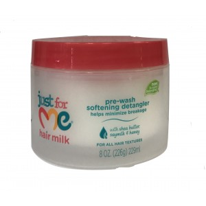 Just For Me Natural Hair Milk Pre-wash Softening Detangler 8 Oz