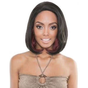 Mane Concept Brown Sugar French Stretch Lace Human Hair Stylemix Lace Front Wig Bs701 Eclipse