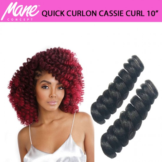 Mane Concept Afri Synthetic Hair Crochet Braid Loop Quick Curlon Cassie Curl 20