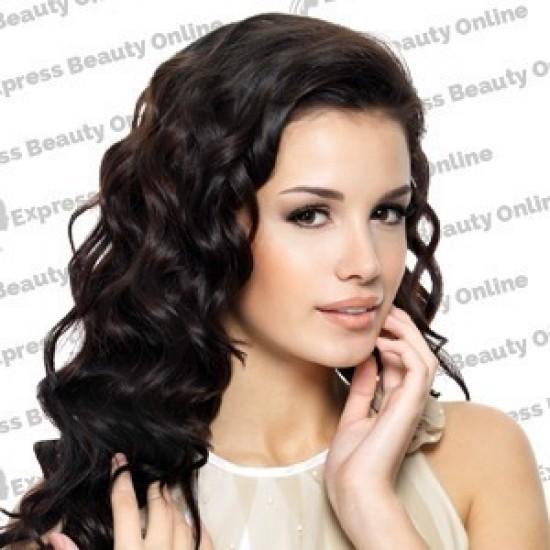 18 fusion-u tip - 100pcs 100% human hair extension name - medium brown (4)  - wavy