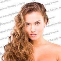 "18"" fusion-u tip - 100pcs 100% human hair extension name - medium ash brown (10)  - wavy"