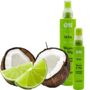 On Natural Oil Free Weave & Wig Conditioner Coco Lime
