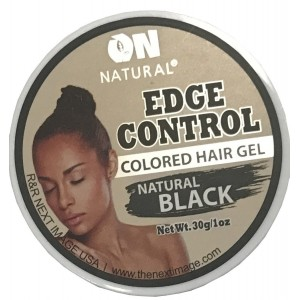 On Natural Edge Control Color Natural Black 1 Oz