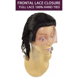 Ebo Brazilian 100% Remy Human Hair Frontal Lace Closure Top Piece